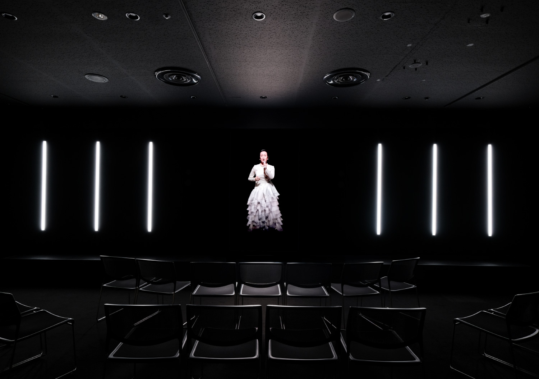 森美術館「未来と芸術展」特別企画 AI×美空ひばり「あれから」_7